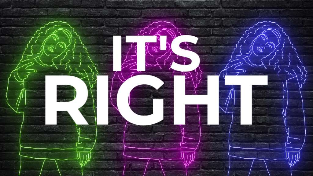 Lyricvideo ``Its Right - MARSE feat. Tatiana Owens``