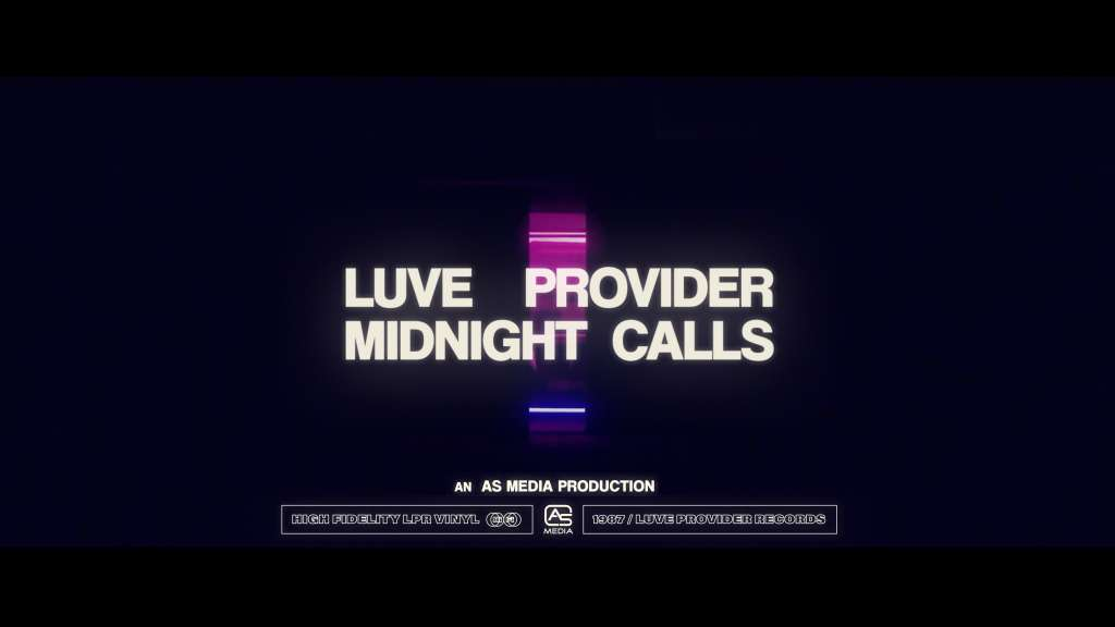 LUVE PROVIDER - MIDNIGHT CALLS (Official Music Video)